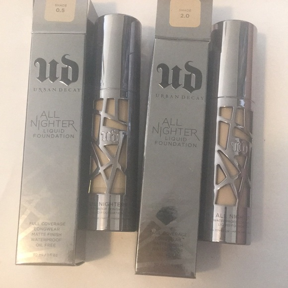 Urban Decay Other - Urban Decay All Nighter foundation (pick one)
